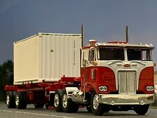 1/64 DCP PETERBILT 352 W/ SPREAD AXLE TRAILER WITH CONTAINER