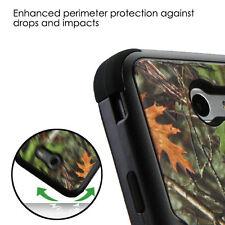 For Samsung GALAXY J3 Emerge Prime TUFF Hybrid Rugged Shockproof Case Cover CAMO