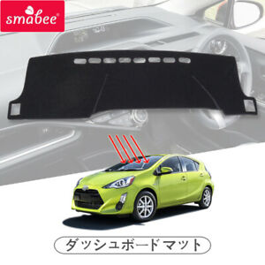Car Dashboard Cover for Toyota Aqua Prius C 2011 - 2019 Dash Mat Carpet Dash Pad