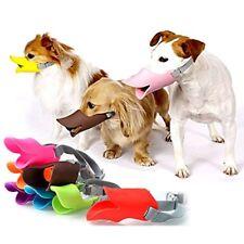 Pretty M Medium Red Dog Anti Bark Muzzle Schnauzers Shih Tzu Lot Bulk