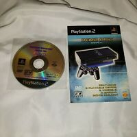 Lot of 2 Playstation 2 Video Game Demo Discs Version 2.1 & Holiday 2001
