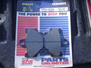 NEW SBS EBC Ceramic Front Brake Pads 1721-0289 550HF FA81-SK93 RZ RD XV SR RX DT