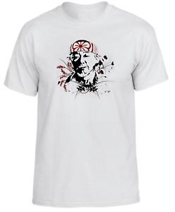 Mr Kesuke Miyagi, Karate Kid, movie Sleeve White Men's t Shirt AA794