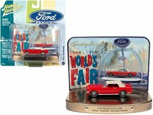 """1:64 1964 1/2 Ford Mustang -- """"Introducing The Ford Mustang"""" -- Johnny Lightning"""