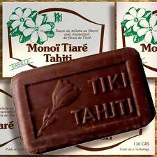 Confezione doppia MONOI Tiki Tahiti Savon VANIGLIA 2x130g olio vegetale-SAPONE vera VANIGLIA