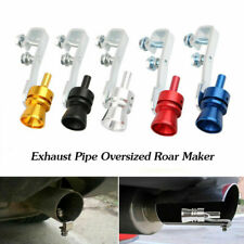 Universal Turbo Exhaust Whistle Sound Car Dump Valve Simulator Tailpipe Whistler