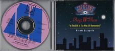 BOYZ II MAN In The Still Of The Nite [ I'll Remember] snippets PROMO CD JACKSONS