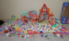 Littlest pet shop Lot 200+ plus 2 houses sugar glider first editions/magnets