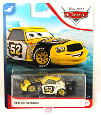 CARS - CLAUDE SCRUGGS racer LEAK LESS TEAM - Mattel Disney Pixar