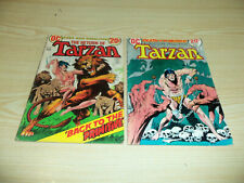 The Return of TARZAN #221 & Tarzan Death is my Brother #224 DC Comics 1973  # A7
