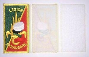 Écusson Patch brodé LÉGION ÉTRANGÈRE 10,5 x 5,5 cm ( scratch + partie a coudre )