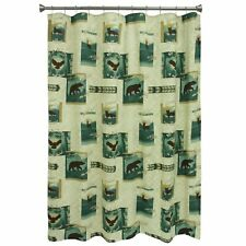 Bacova Guild Discover The Wild Shower Curtain Bear Deer Eagles Foxes
