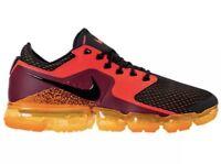 6422ab1aaa Nike Air Vapormax Triple Black Anthracite Mens Size 9.5 Rare AH9046 ...