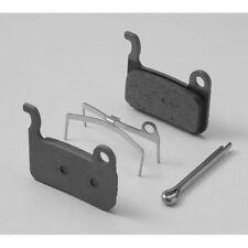 Shimano M07TI disc brake pads and spring - titanium backed - resin