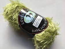 Dark Horse Yarns Lovely Lash #214 Sage Green Eyelash Yarn 50 gram 92 yards