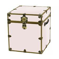 Rhino Antique Brass Storage Cube 18x18x20 for Home, College & Dorm. USA Made