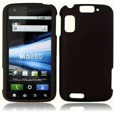 For Motorola Atrix 4G MB860 Rubberized - Black