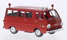 Dodge a 100 bus, Emergency Fire Dept., 1:87, Brekina