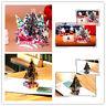 3D Pop Up Greeting Card Handmade Birthday Party Invitation Merry Christmas Card