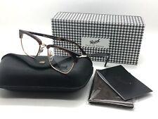Persol RX Eyeglasses Frames 3196 V 24 51-19-145 Havana Tailoring Edition Italy