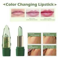 Womens Aloe Vera Lip Color Mood Changing Long Lasting Moisturizing Lipstick AU