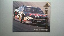 1997 NASCAR Pinnacle Portraits 8 x 10 Dale Earnhardt GM Monte Carlo ~ #DE4 Card