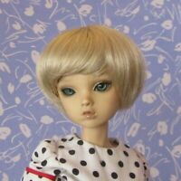 Imsco BOB Pale Blond  Full Cap Doll Wig  SZ 9-10 Short Bob