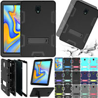 """Hybrid Heavy Duty Stand Case Cover For Samsung Galaxy Tab A/A2 10.5"""" T590 Tablet"""