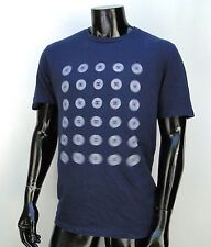 Dc shoes skateboard classic Dash logo mens Blue Navy t shirt Large