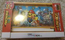 Mario Pikachu soft cover case New Nintendo 3Ds Xl Pokemon Center Limited edition