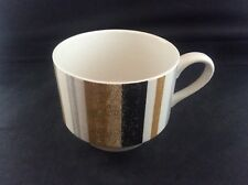 Vintage 1960's Mid Century Modern Midwinter Queensberry Stripe Coffee Can Cup