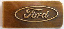 Ford antique finish money clip #K470