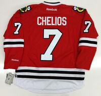 CHRIS CHELIOS CHICAGO BLACKHAWKS RBK JERSEY