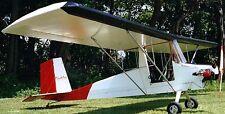 Cloudster Pop's Props Monoplane Usa Airplane Mahogany Kiln Wood Model Small New