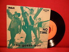 1970 THE GUESS WHO No Time EP 7/45 PORTUGAL RARE SLEEVE Psych Folk Rock Canada