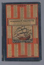 Almanach HACHETTE petite encyclopédie populaire vie pratique 1935