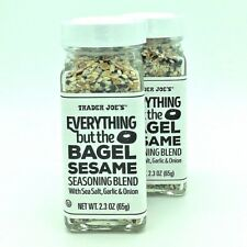 *2 Pack* Trader Joe's Everything But the Bagel Sesame Seasoning Blend BRAND NEW