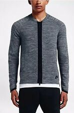 Nike Sportswear Tech Knit Men's Bomber Jacket -Size Small Grey/Black 810558 065