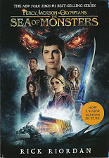 Percy Jackson and the Olympians #2: Sea of Monsters by Rick Riordan (paperback)