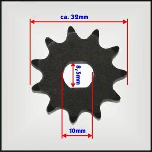 Ersatzteil eScooter 11/80 T8F Komplettübersetzung Laser Kettenrad dicke Kette es