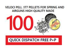 Conçu Pour Co2 et Ressort à Air Pack De 100 Webley Veloci Pell .177 cal