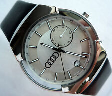 Audi Collection Elegant Business Classic Sport Design GMT Dual Time Zone Watch