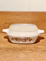 "Corning Ware Spice of Life 5"" Square Casserole Dish With Lid 1 3/4 Cup P41B"