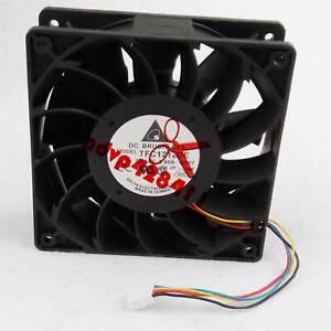 1PC Delta 120mm 12cm TFC1212DE 190CFM 12038 DC 12V cooling fans