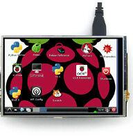 HD resolution touch screen Model B 3.5 Inch Raspberry Pi 3 and Raspberry Pi 2