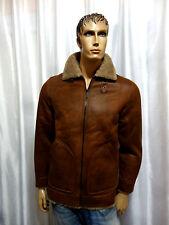 Buffalo David Bitton mens winter Faux Shearling Zip RUST Coat jacket S NEW $325