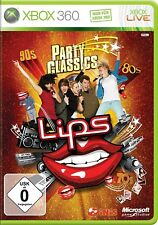 Xbox 360 Game Lips Party Classics - 40 LIEDER NEW