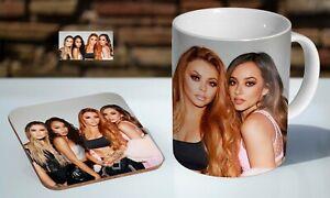 Little Mix Group 11oz Tea / Coffee Mug Coaster Gift Set