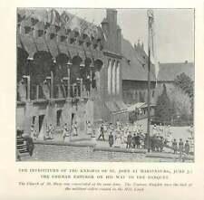1902 Investiture Of Knights Of St John Marienburg, Teutonic Knights