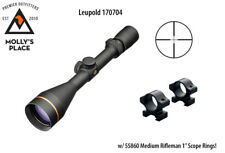 "Leupold 170704, VX-3i 4.5-14x50mm Duplex 1"" Scope w/ 55860 Scope Rings!"